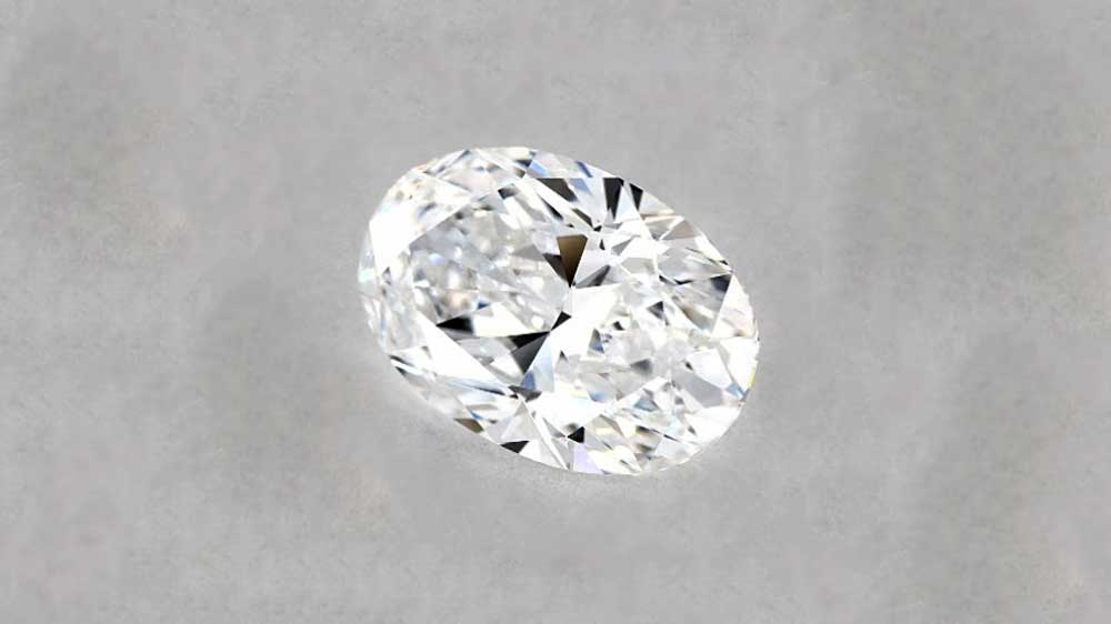Oval Cut Brilliant Diamond