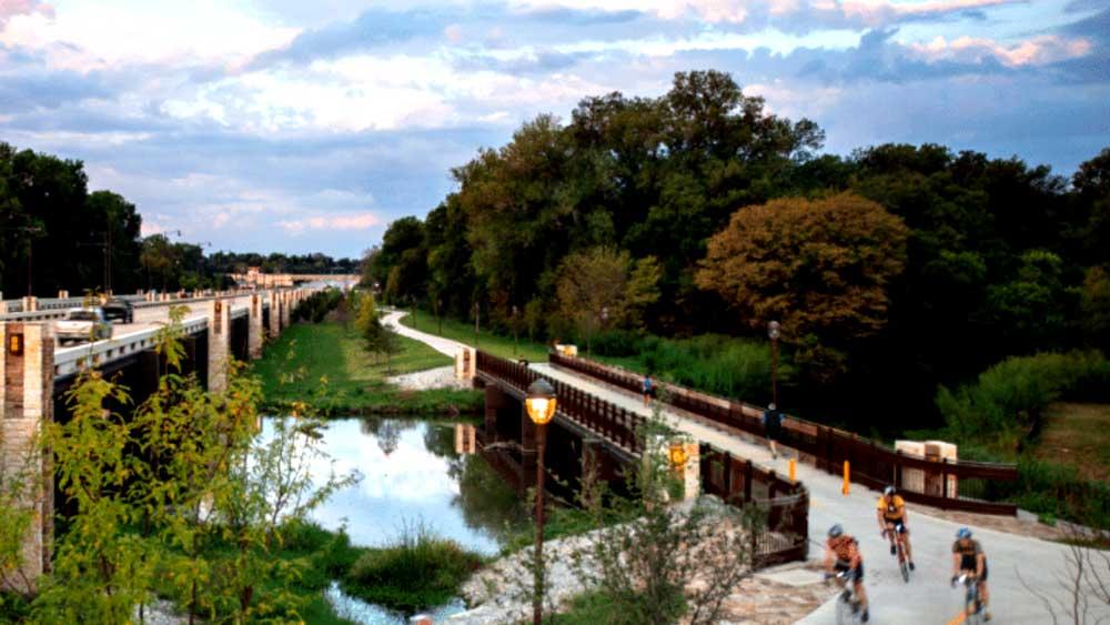 Dallas Proposal Location White Rock Lake