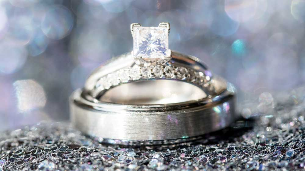 Diamond with Florescence
