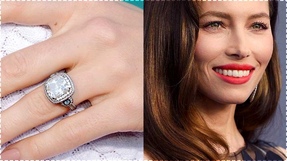 Jessica Biel Engagement Ring