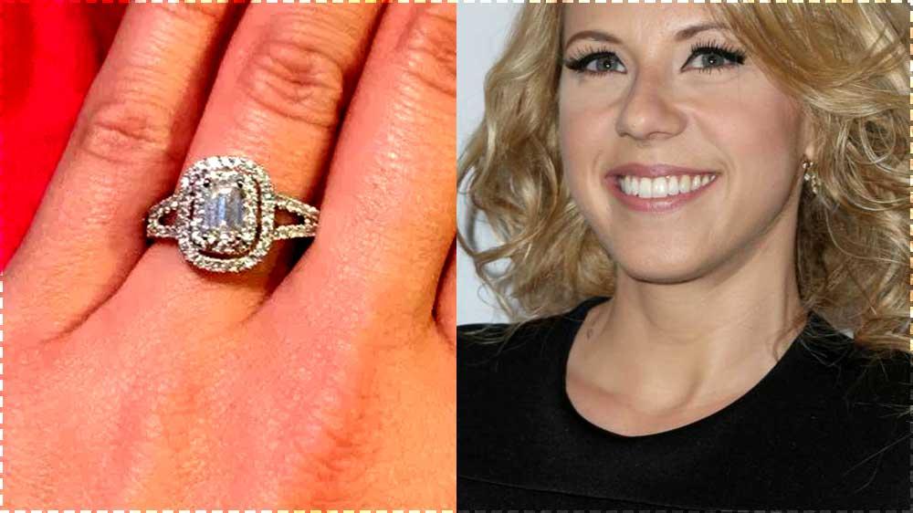 Jodie Sweetin Engagement Ring