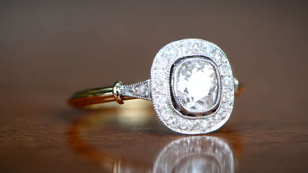 Two Tone Ring Style Setting