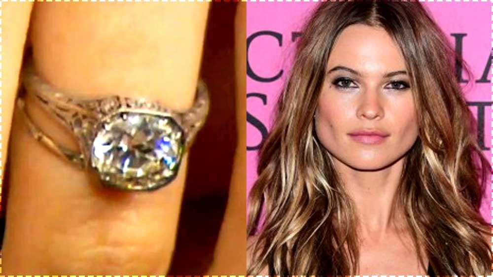behati prinsloo engagement ring close up